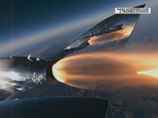Virgin Galactic test flight reaches the edge of space