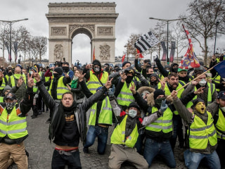 Paris protests: More than 1,700 arrested during weekend riots