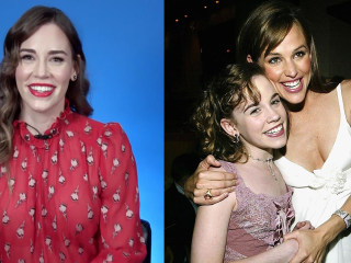 '13 Going on 30' actress re-enacts role as young Jennifer Garner