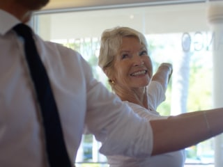 After husband's sudden death, 67-year-old finds new life as dance champion