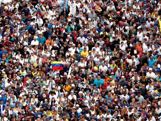 Mass anti-Maduro rally demands change in Venezuela