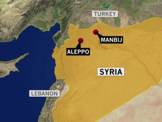 U.S.-led coalition forces targeted in suicide bombing in Syria