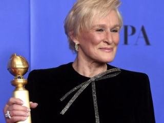 Glenn Close's Golden Globes' speech brings audience to its feet