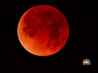 'Super blood wolf moon' will be visible across the U.S. tonight