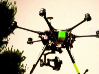 Authorities still searching for operator behind the two Newark drones