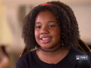 Martin Luther King Jr.'s 10-year-old granddaughter says she has a dream, too
