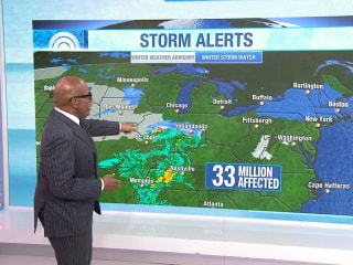 Forecast: Monster storms to bring heavy snow, ice to US
