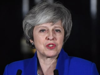 Theresa May survives no-confidence vote after failed Brexit plan