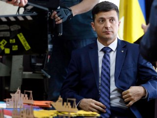 TV actor plays the Ukrainian president he hopes to become