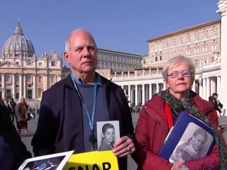 Survivors make their voices heard ahead of Vatican summit on sex abuse
