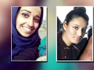 American and British ISIS brides plead to return home