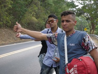 Leaving Venezuela: Walking to find a better life