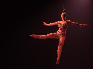 Cirque du Soleil performer on what it's like to hang by her hair