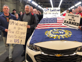 Employees frustrated and uncertain as production ends at Ohio GM plant
