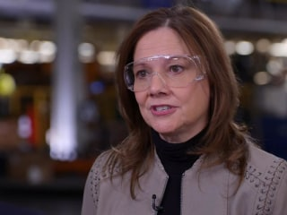 GM CEO talks President Trump after new manufacturing pledge