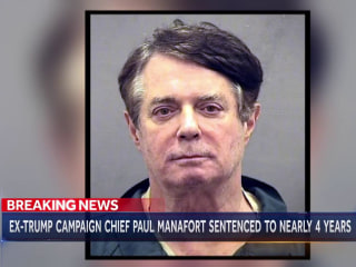 Ex-Trump campaign chief Paul Manafort gets nearly four year sentence