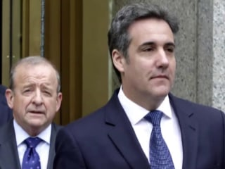 Trump says Michael Cohen 'directly' asked him for pardon