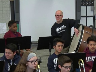 'Band Grandpas' helping students through music and mentorship