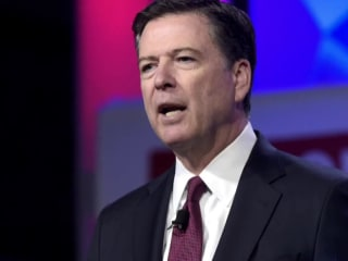 Comey says he hopes Trump not impeached as Washington braces for Mueller report