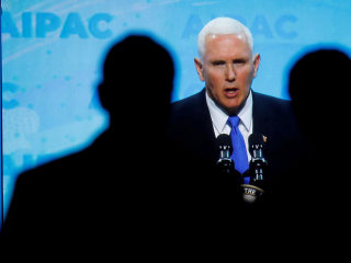 Pence: Democratic party 'co-opted' by anti-Semitic rhetoric
