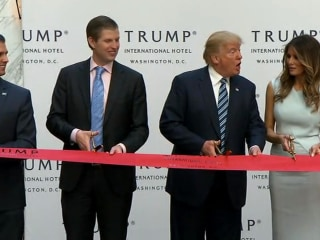Lawsuit questions whether Trump hotel in DC violates Constitution