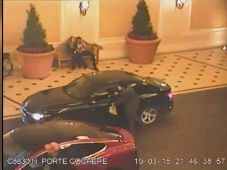 Video shows Bellagio robbery suspect trading gunfire with police