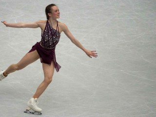 US skater Mariah Bell accused of purposely slashing rival with skate