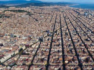 Inside Barcelona's superblocks, a future where pedestrians rule car-free streets