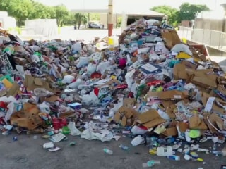 U.S. faces recycling crisis after China rejects American recyclables