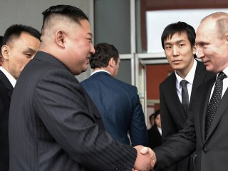 Kim Jong Un, Vladimir Putin hold summit in wake of failed US talks