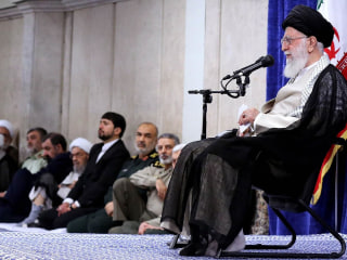 Iran's supreme leader: 'There is not going to be a war'