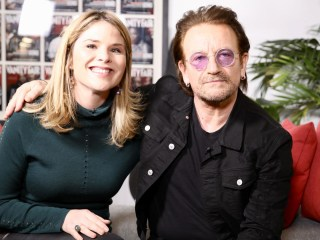 Bono made Jenna cry with this sweet present for daughter Mila