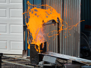 Scientists are creating batches of homemade lava to see it explode