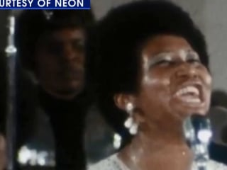 New film features Aretha Franklin as never seen before