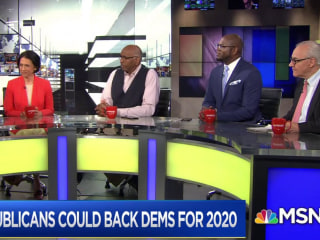 Are some Republicans looking for 2020 right-leaning Democrats?