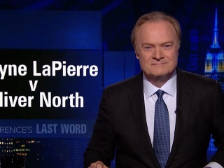 Lawrence's Last Word: Wayne LaPierre v Oliver North