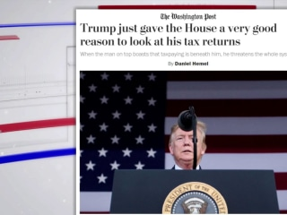 How Trump gave Congress a good reason to see his tax returns