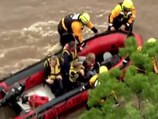 Flash floods and tornadoes strike across Great Plains