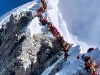 Three more climbers die on Mount Everest as busy season causes traffic jam