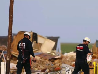 Deadly tornado tears through Oklahoma community, still reeling from floods