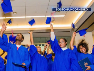 Unique Boston program pays gang members to go to school