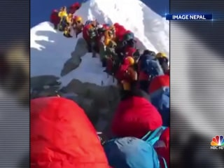 Death toll rises on Mount Everest, raising concerns of overcrowding on world's highest peak