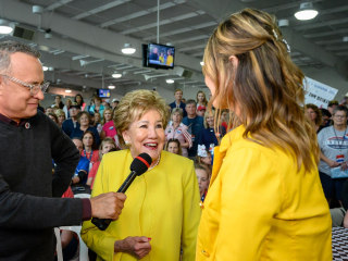 Elizabeth Dole talks about championing military caregivers