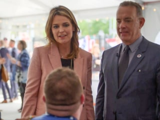 Tom Hanks and Savannah Guthrie step into the world of military caregivers