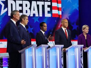 Dem candidates hit Trump at the debate