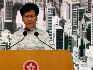 Hong Kong suspends controversial extradition bill
