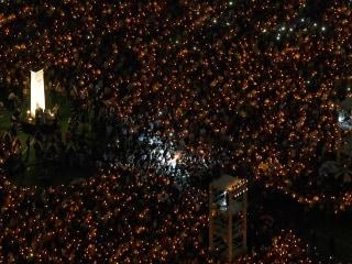 Thousands attend Hong Kong Tiananmen Square vigil