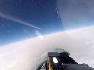Russian warplane intercepts NATO jets during exercise