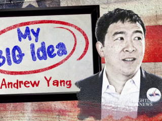Andrew Yang shares his Big Idea for universal basic income