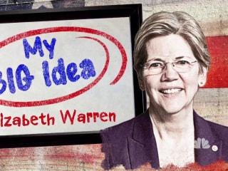 Elizabeth Warren shares her Big Idea for America's college students